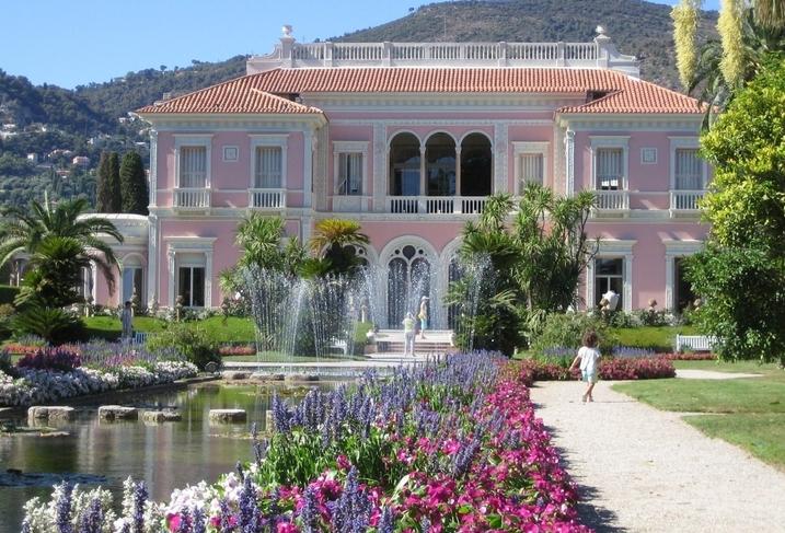 Die villa Ephrussi de Rotschild in Saint Jean Cap Ferrat - Villa les ...